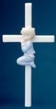 PRAYING BOY CROSS