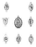Seven Sorrows Rosary Medals - Complete Set! FREE SHIPPING!