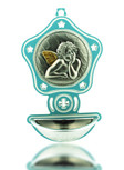 Children's Holy Water Font: Angel - Perfect Gift for Christening & Baptism!