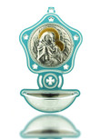 Children's Holy Water Font: Mary and Jesus - Perfect Gift for Christening & Baptism!