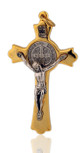 Beautiful St. Benedict Cross (Gold-Tone)