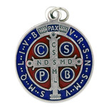"1 3/4"" St. Benedict Pendant for Necklace"