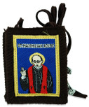 Authentic Catholic Scapular - 100% Wool (Saint Maximilian Kolbe)