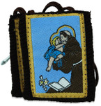 Authentic Catholic Scapular - 100% Wool (Saint Anthony)