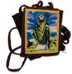 Authentic Catholic Scapular - 100% Wool (Saint Patrick)