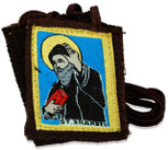 Authentic Catholic Scapular - 100% Wool (Saint Sharbel)