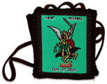 Authentic Catholic Scapular - 100% Wool (Saint Michael)