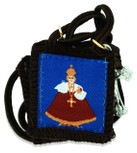 Authentic Catholic Scapular - 100% Wool (Infant of Prague)