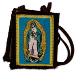 Authentic Catholic Scapular - 100% Wool (Our Lady of Guadalupe)