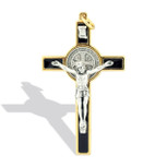 Catholic Saint Benedict Crucifix Necklace