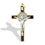 Catholic Saint Benedict Crucifix Necklace