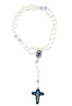 Catholic Mother Teresa Glass Bead Rosary