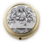 Catholic Holy Communion Pyx (Last Supper)