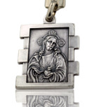 Catholic Keychain (Sacred Heart of Jesus / Immaculate Heart of Mary)