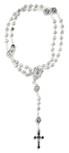 Beautiful Catholic Rosary and Case Gift Set (Divine Mercy)