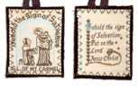 Handmade Catholic Brown Scapular - 100% Wool Made in the U.S.A.
