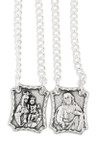 Our Lady of Mount Carmel Metal Scapular