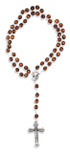 Catholic Cat's Eye Rosary - Made in Italy