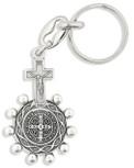 Saint Benedict Rosary Key Chain