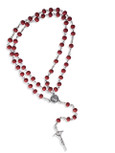Rose Scented Saint Mother Teresa Rosary and Prayer Kit - Vatican Imports