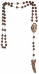 Large Catholic Wall Rosary with Resin Beads