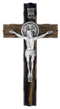 "Wood Saint Benedict Cross, 7.5"" x 4"""