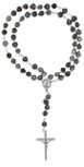 Job's Tears Catholic Rosary with Case - Vatican Imports