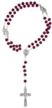 Rose Scented Rosary with Wood Beads