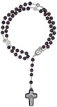 Four Basilicas Pope Francis Rosary with Wood Beads