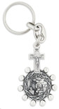 One Decade Rosary Key Chain (Saint Teresa / Saint Rita)