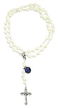 Beautiful Mother of Pearl Rosary by Vatican Imports