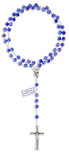 Crystal Rosary Beads for First Communion by Vatican Imports