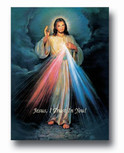 "Large 27"" x 19"" Divine Mercy Print - Ready for Framing!"