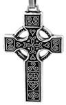"Traditional Celtic Cross Pendant, 1.5"""