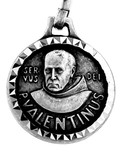 Traditional Saint Valentine Medal