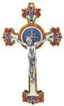 St. Benedict Crucifix with Saint Benedict Medal Wall Cross