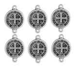 Pack of 6 Our Father Beads - Saint Benedict Style
