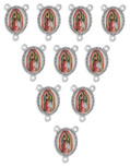 "Pack of 10 Bulk 1"" Rosary Centers, For Rosaries of all Sizes!"