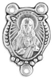 Pack of 5 Sacred Heart of Jesus Rosary Centers