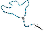 Catholic Rosary Beads with Immaculate Conception Center