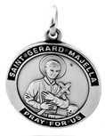 Saint Gerard Majella Medal with Chain