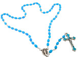 Catholic Rosary Beads with QuadLink Chain