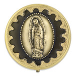 60mm Our Lady of Guadalupe Pyx