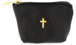 Genuine Italian Leather Rosary Pouch