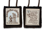 *FREE* Brown Scapular - 100% Wool!