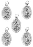 Bulk Saint Francis of Assisi Medals - Pack of 5