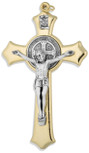 Traditional Saint Benedict Cross Pendant by Venerare