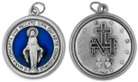 "1 1/4"" Catholic Saint Medal with Polished Trim"