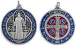 "Deluxe 2"" Saint Benedict Medal by Venerare"
