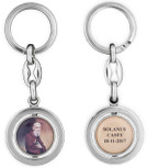 Solanus Casey Spinning Key Chain